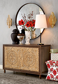 New Ballard items for your home entry arrangement | Ballard Designs