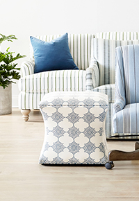 Custom home furnishings and decor upholstery furniture image | Ballard Designs