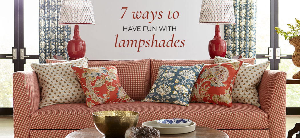 7 Ways to Have Fun with Lampshades